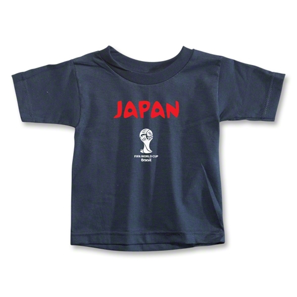 Japan 2014 FIFA World Cup Brazil(TM) Toddler Core T-Shirt (Navy)