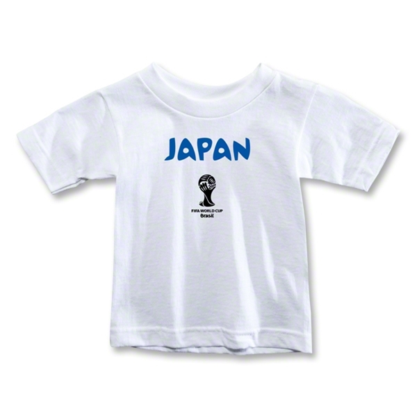 Japan 2014 FIFA World Cup Brazil(TM) Toddler Core T-Shirt (White)