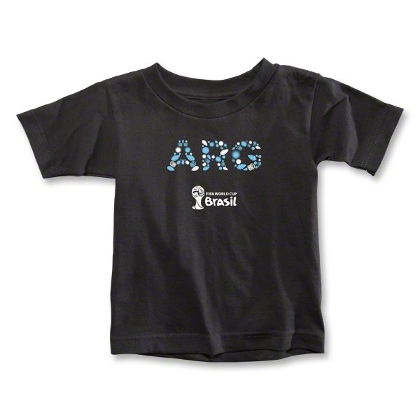 Argentina 2014 FIFA World Cup Brazil(TM) Toddler Elements T-Shirt (Black)