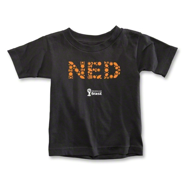 Netherlands 2014 FIFA World Cup Brazil(TM) Toddler Elements T-Shirt (Black)
