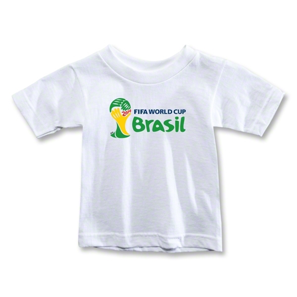 2014 FIFA World Cup Brazil(TM) Toddler Landscape Emblem T-Shirt (White)