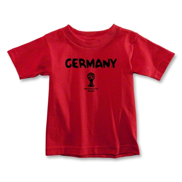 Germany 2014 FIFA World Cup Brazil(TM) Toddler Core T-Shirt (Red)