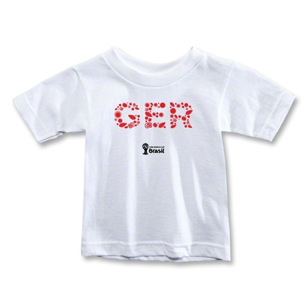 Germany 2014 FIFA World Cup Brazil(TM) Toddler Elements T-Shirt (White)