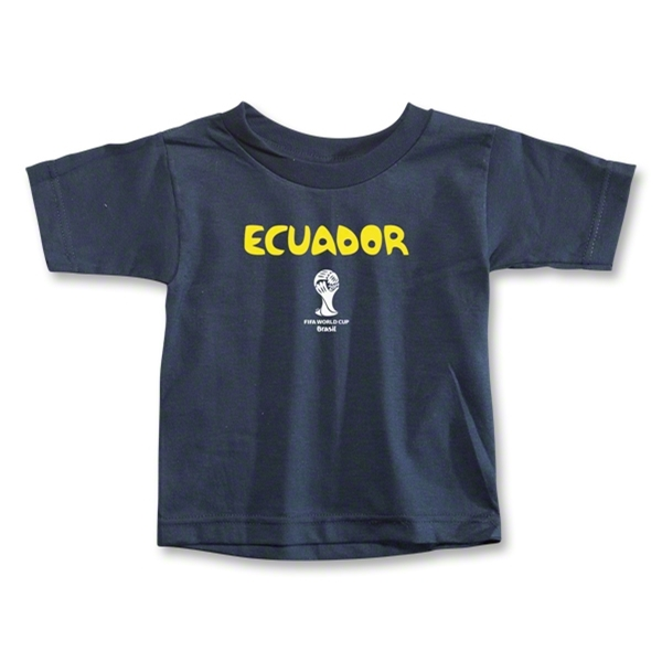 Ecuador 2014 FIFA World Cup Brazil(TM) Toddler Core T-Shirt (Navy)