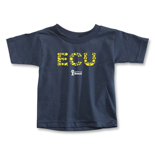 Ecuador 2014 FIFA World Cup Brazil(TM) Toddler Elements T-Shirt (Navy)