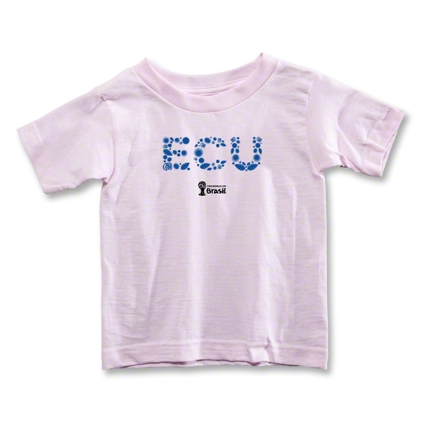 Ecuador 2014 FIFA World Cup Brazil(TM) Toddler Elements T-Shirt (Pink)