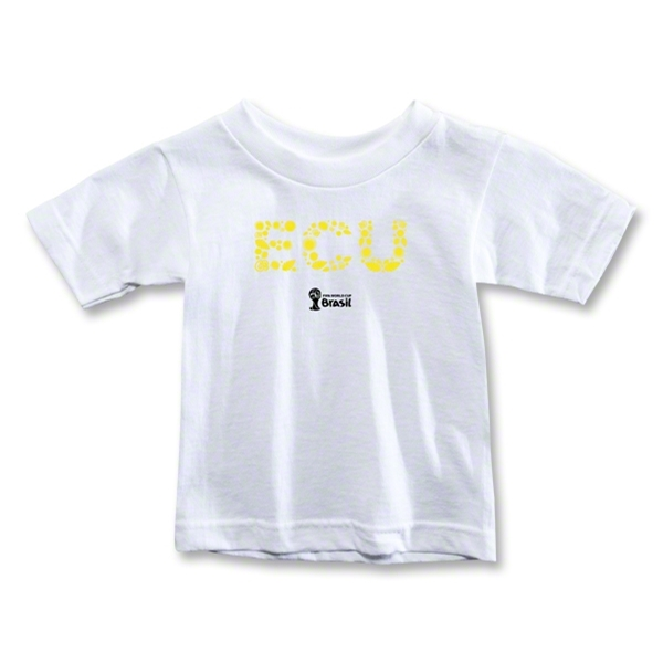 Ecuador 2014 FIFA World Cup Brazil(TM) Toddler Elements T-Shirt (White)
