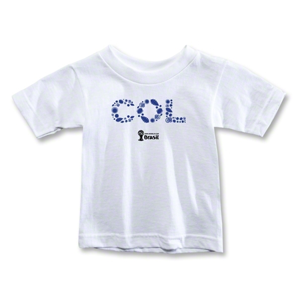 Colombia 2014 FIFA World Cup Brazil(TM) Toddler Elements T-Shirt (White)
