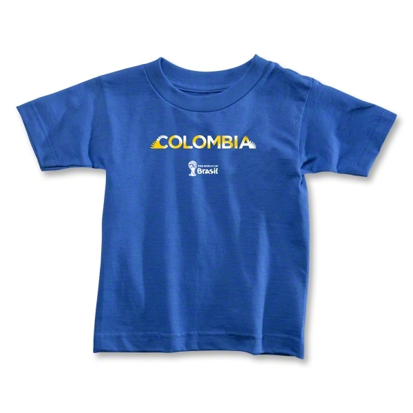 Colombia 2014 FIFA World Cup Brazil(TM) Toddler Palm T-Shirt (Royal)