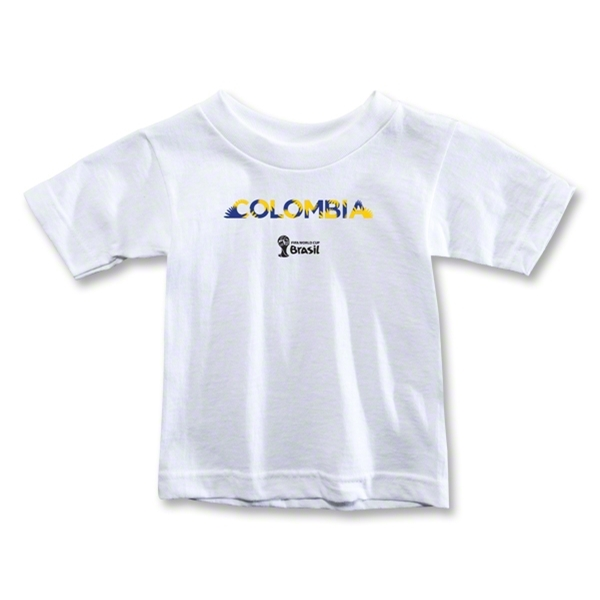 Colombia 2014 FIFA World Cup Brazil(TM) Toddler Palm T-Shirt (White)