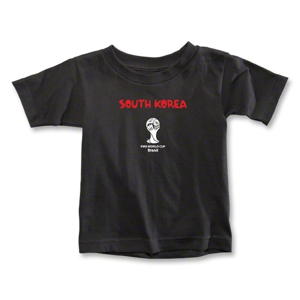 South Korea 2014 FIFA World Cup Brazil(TM) Toddler Core T-Shirt (Black)