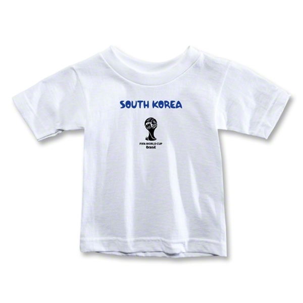 South Korea 2014 FIFA World Cup Brazil(TM) Toddler Core T-Shirt (White)