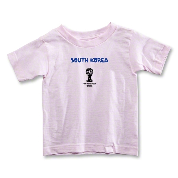 South Korea 2014 FIFA World Cup Brazil(TM) Toddler Core T-Shirt (Pink)