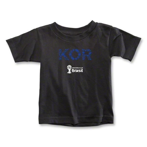 South Korea 2014 FIFA World Cup Brazil(TM) Toddler Elements T-Shirt (Black)