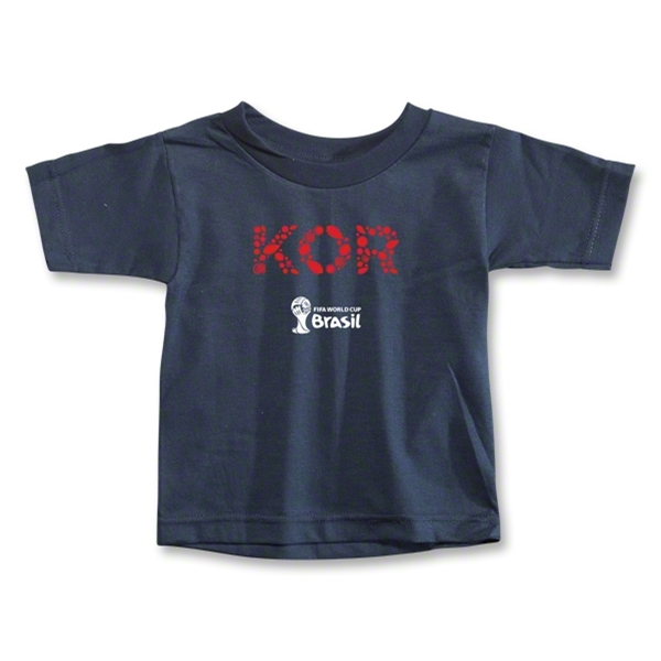 South Korea 2014 FIFA World Cup Brazil(TM) Toddler Elements T-Shirt (Navy)