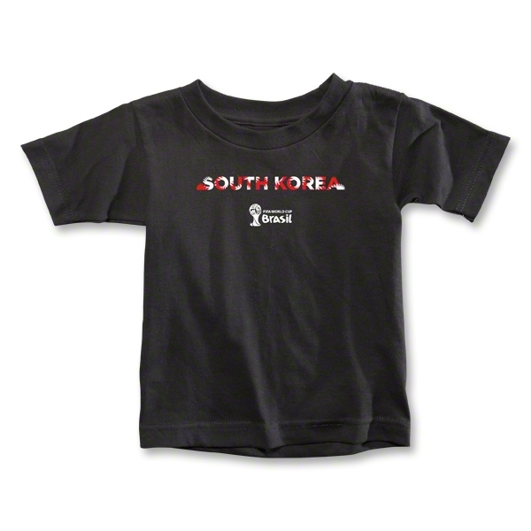 South Korea 2014 FIFA World Cup Brazil(TM) Toddler Palm T-Shirt (Black)