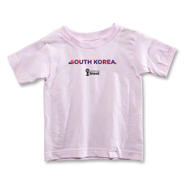 South Korea 2014 FIFA World Cup Brazil(TM) Toddler Palm T-Shirt (Pink)