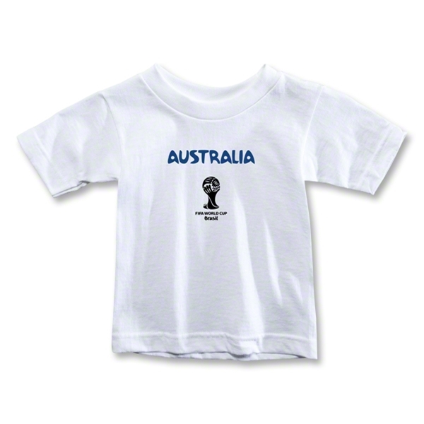 Australia 2014 FIFA World Cup Brazil(TM) Toddler Core T-Shirt (White)