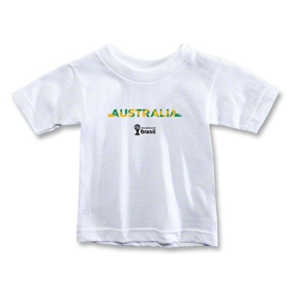 Australia 2014 FIFA World Cup Brazil(TM) Toddler Palm T-Shirt (White)