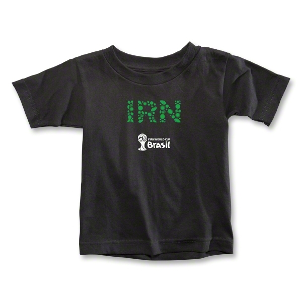Iran 2014 FIFA World Cup Brazil(TM) Toddler Elements T-Shirt (Black)