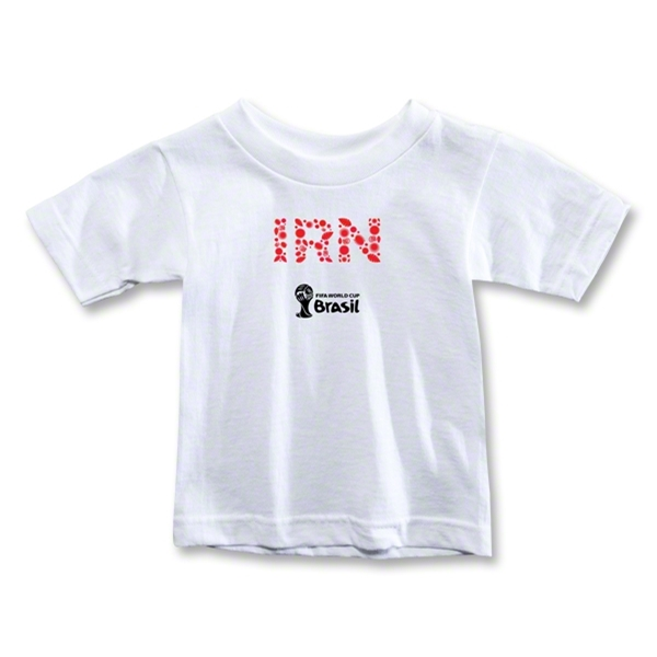 Iran 2014 FIFA World Cup Brazil(TM) Toddler Elements T-Shirt (White)