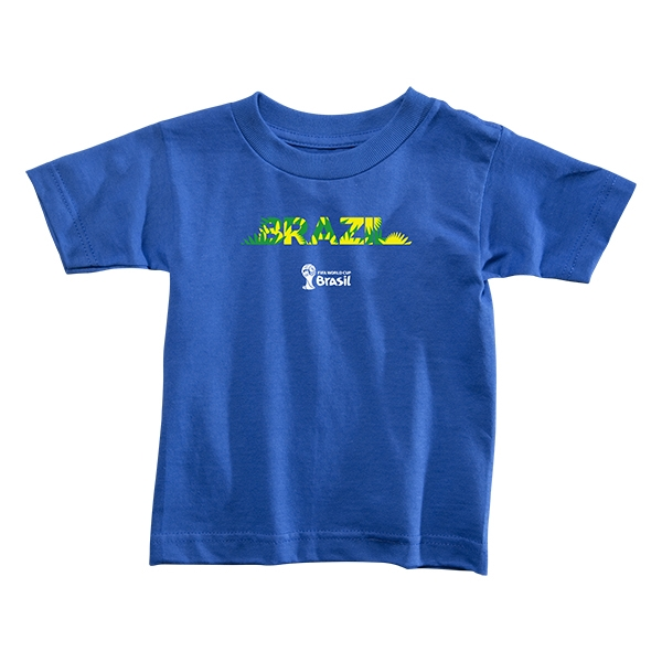 Brazil 2014 FIFA World Cup Brazil(TM) Toddler Palm T-Shirt (Royal)