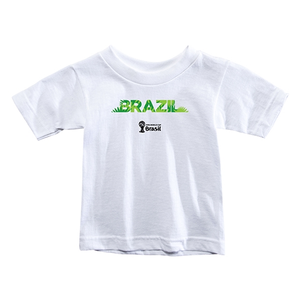 Brazil 2014 FIFA World Cup Brazil(TM) Toddler Palm T-Shirt (White)