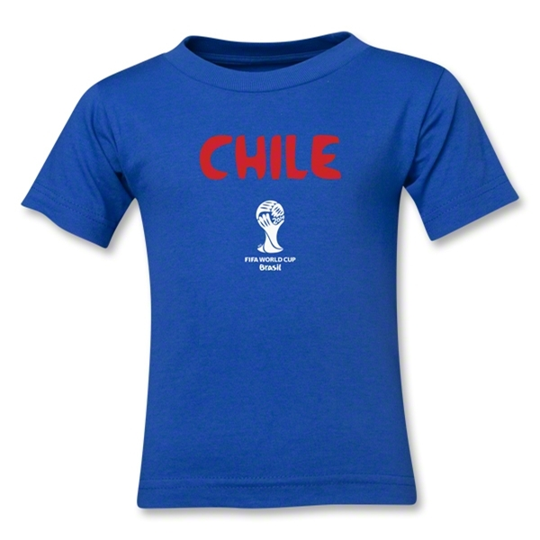 Chile 2014 FIFA World Cup Brazil(TM) Toddler Core T-Shirt (Royal)