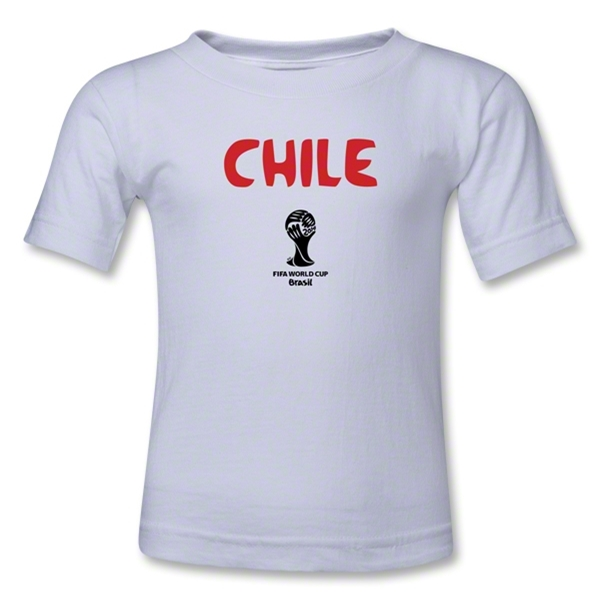 Chile 2014 FIFA World Cup Brazil(TM) Toddler Core T-Shirt (White)