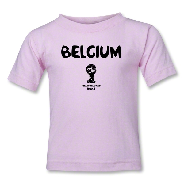 Belgium 2014 FIFA World Cup Brazil(TM) Toddler Core T-Shirt (Pink)