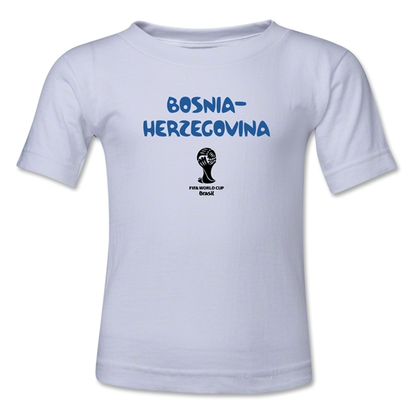 Bosnia-Herzegovina 2014 FIFA World Cup Brazil(TM) Toddler Core T-Shirt (White)