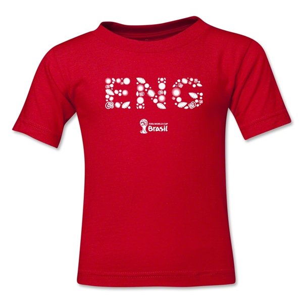 England 2014 FIFA World Cup Brazil(TM) Toddler Elements T-Shirt (Red)