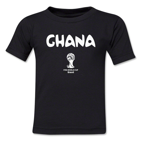 Ghana 2014 FIFA World Cup Brazil(TM) Toddler Core T-Shirt (Black)
