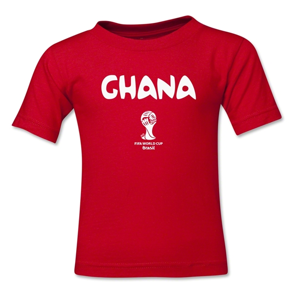 Ghana 2014 FIFA World Cup Brazil(TM) Toddler Core T-Shirt (Red)