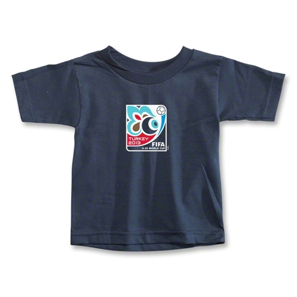 FIFA U-20 World Cup Turkey 2013 Toddler Emblem T-Shirt (Navy)