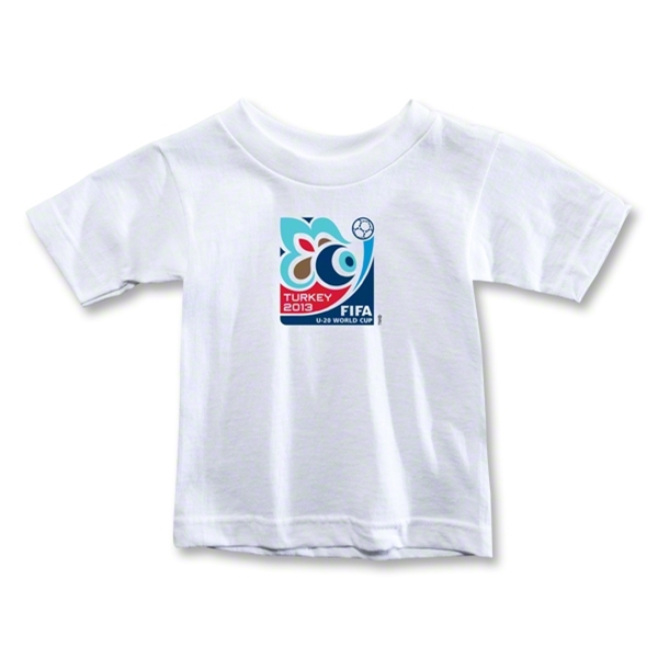 FIFA U-20 World Cup Turkey 2013 Toddler Emblem T-Shirt (White)
