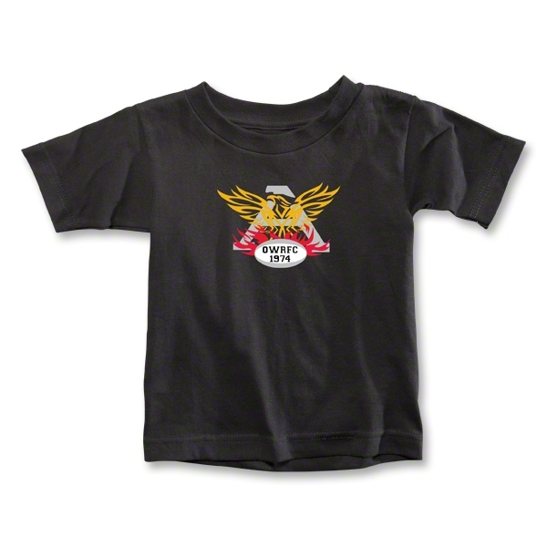 Old White Toddler's Logo T-Shirt (Black)