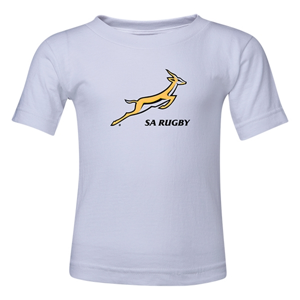 South Africa Springboks Toddler T-Shirt (White)