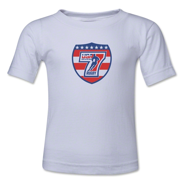 USA Sevens Rugby Toddler T-Shirt (White)