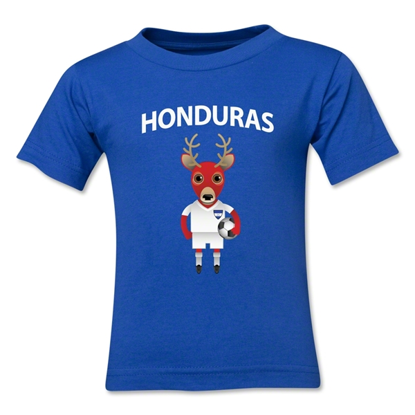 Honduras Animal Mascot Toddler T-Shirt (Royal)