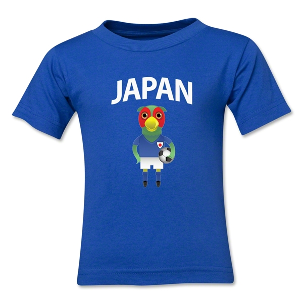 Japan Animal Mascot Toddler T-Shirt (Royal)