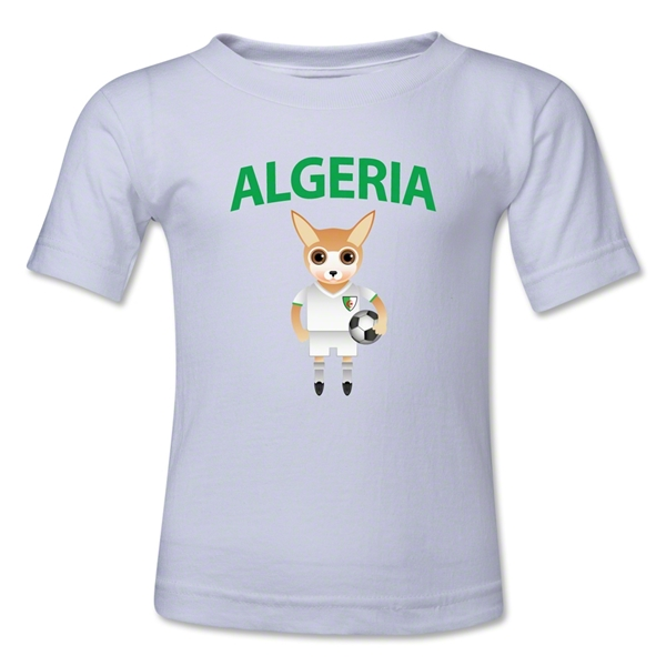 Algeria Animal Mascot Toddler T-Shirt (Red)