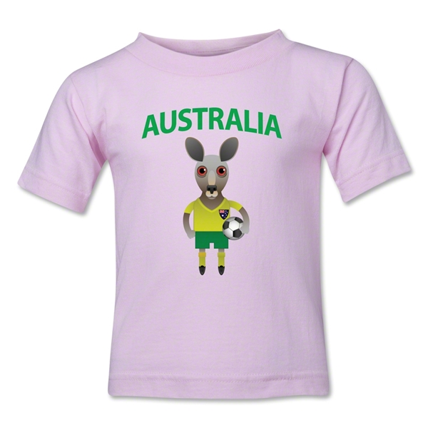 Australia Animal Mascot Toddler T-Shirt (Pink)
