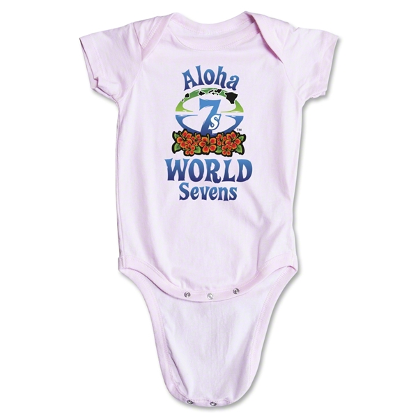 Aloha World Sevens Infant Onesie (Pink)