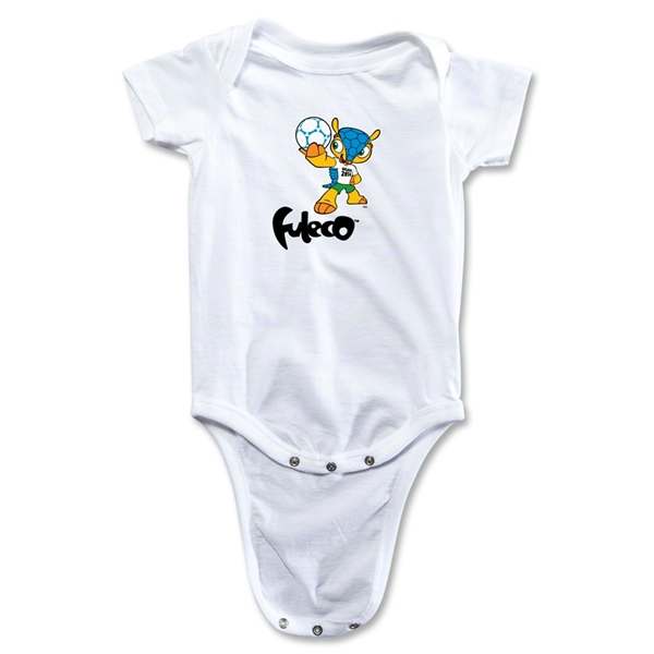 2014 FIFA World Cup Brazil(TM) Mascot Onesie (White)