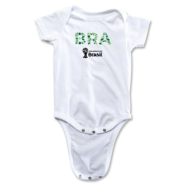 Brazil 2014 FIFA World Cup Brazil(TM) Elements Onesie (White)