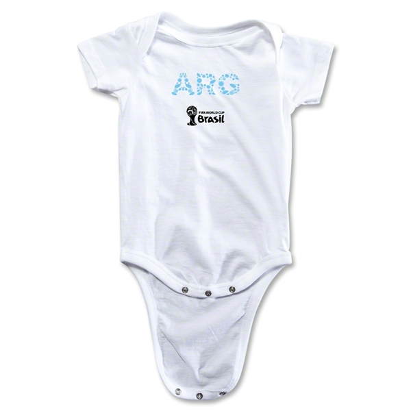 Argentina 2014 FIFA World Cup Brazil(TM) Elements Onesie (White)