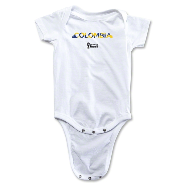 Colombia 2014 FIFA World Cup Brazil(TM) Palm Onesie (White)