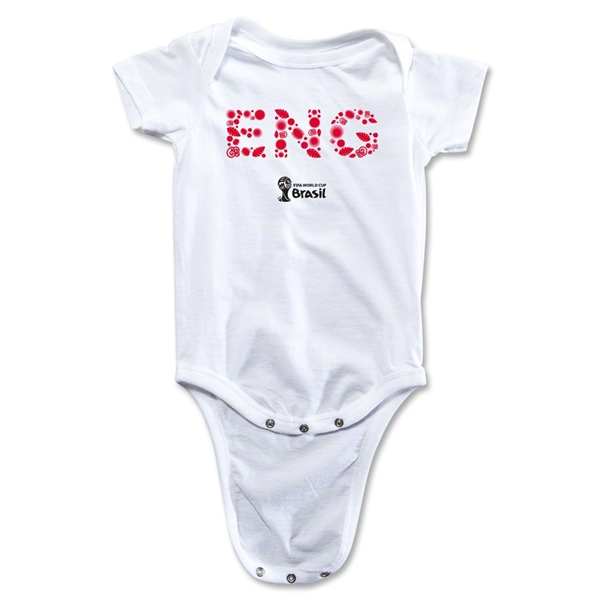 England 2014 FIFA World Cup Brazil(TM) Elements Onesie (White)
