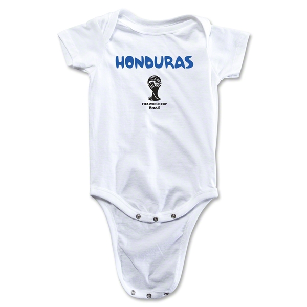 Honduras 2014 FIFA World Cup Brazil(TM) Core Onesie (White)